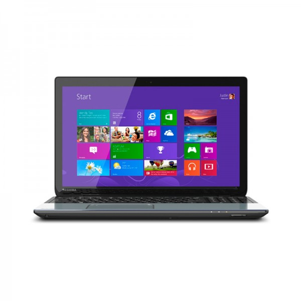 "Laptop Toshiba Satellite S55T-A5389, Intel Core i7-4700MQ 2.4GHz,RAM 8GB , HDD 750GB , DVD, 15.6"" HD Touch , Win 8"