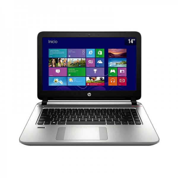 "Laptop HP Envy 14-U185LA, Intel Core i5-4210U 1.7GHz, RAM 4GB, HDD 500GB, DVD±RW, LED 14"" HD, Win 8.1"