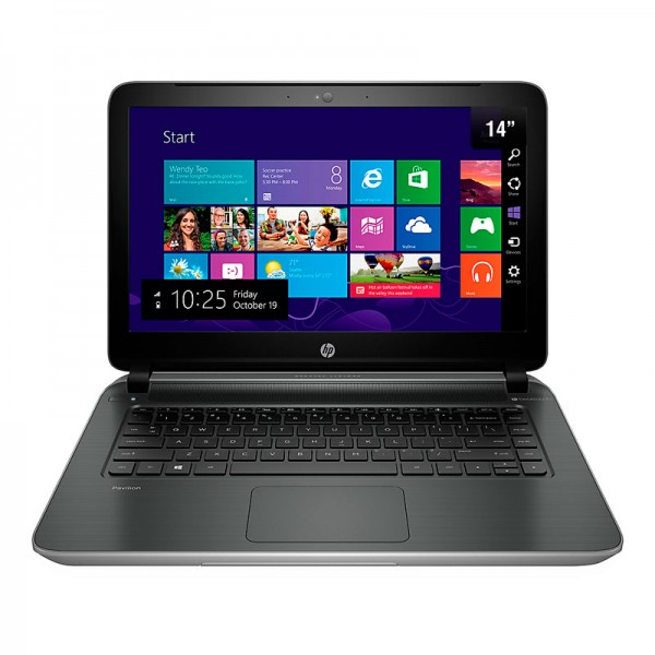 "Laptop HP Pavilion 14-V014LA Intel Core i7-4510U 2.0GHz, RAM 8GB, HDD 750GB, DVD, 14""HD, Win 8.1"