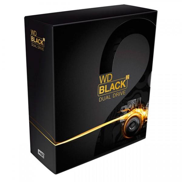 "Disco duro Hibrido Wester digital Black2 DUAL DRIVE 1 TB + 120 SSD de 2.5"""