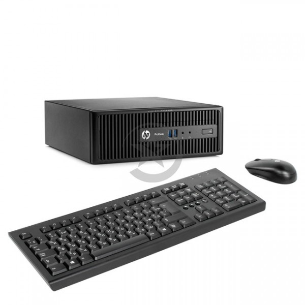 PC HP ProDesk 400 G3 Intel® Core™ i3-6100 3.4GHz, RAM 4GB, HDD 500GB, DVD, Windows 10 Pro