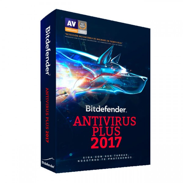 Antivirus Bitdefender, Antivirus Plus 2017, 1PC