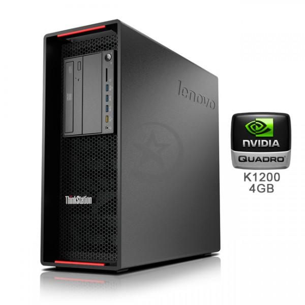 PC WorkStation Lenovo ThinkStation P500 Intel Xeon QuadCore E5-1620 v3 3.5GHz(vPro), RAM 8GB DDR4 , HDD 1TB , Video Quadro K1200 4GB ddr5, DVD, Windows 10 Pro