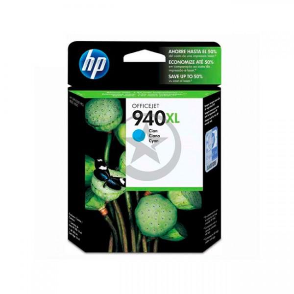 Cartucho original de tinta Cyan de alto rendimiento HP 940XL (C4907AL)