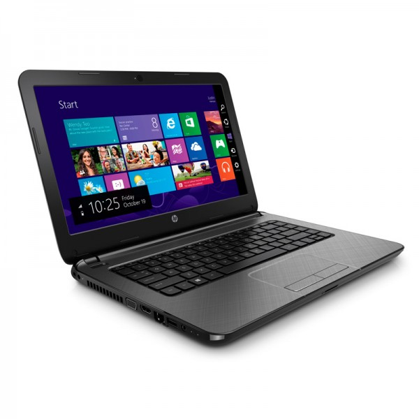"Laptop HP 14-R005LA Intel® Core™ i3-3217U 1.8 GHz, RAM 4GB, HDD500GB, DVD, LED 14""HD, Windows 8.1"