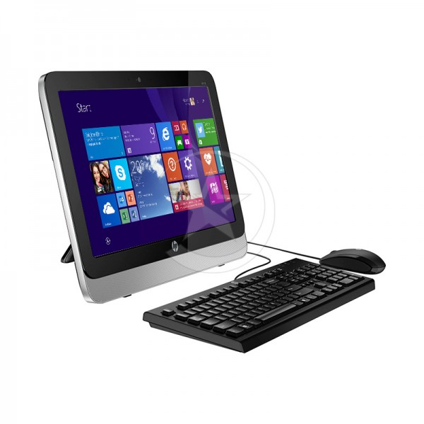 "PC Todo En Uno HP 20-R010zw, AMD E1-6015 1.4GHz, RAM 8GB, HDD 500GB, DVD SuperMulti, LED 19.5"" HD, Windows 8.1"