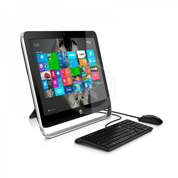 "PC Todo en Uno HP Pavilion TouchSmart 21-2020z, AMD A4-6210 1.8GHz, RAM 8GB, HDD 1TB, DVD, LED 21.5"" Full HD Touch, Windows 8.1"
