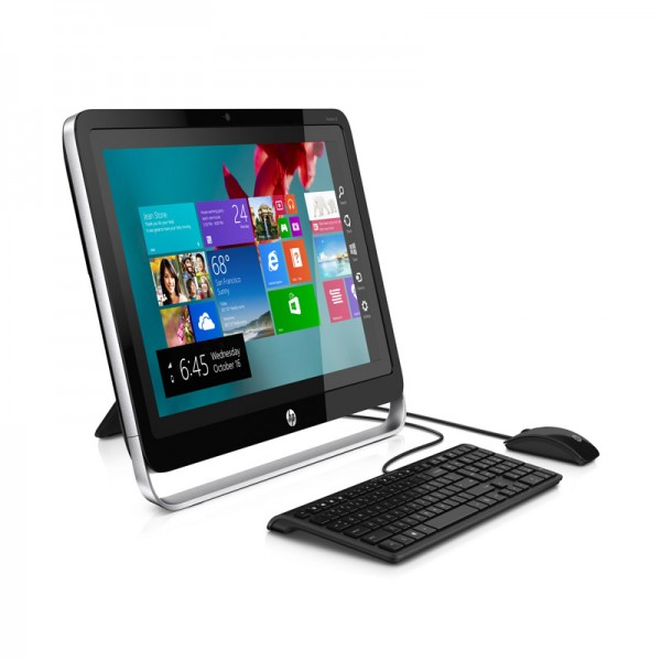 "PC Todo En Uno HP Pavilion 21-h005la, AMD A4-5000, RAM 4GB, HDD 1TB, DVD SuperMulti, LED 21.5"" Full HD Touch, Windows 8.1"