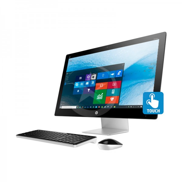 "PC Todo en Uno HP Pavilion TouchSmart 23-q170se, Intel Core i7-4785T 2.2GHz (vPro), RAM 16GB, HDD 1TB, Video AMD 2GB, DVD, LED 23"" Touch Full HD, Windows 10"