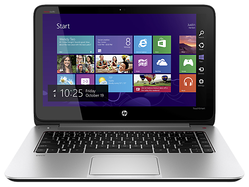 Laptop HP ENVY TouchSmart 15T J00-Y8F4 Intel Core i7 4700MQ 2.4GHz