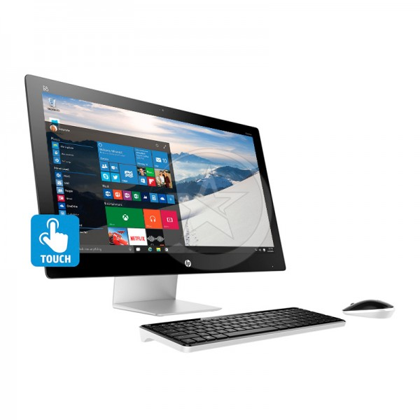 "PC Todo en Uno HP Pavilion Touch 27-n170qe, Intel Core i5 4590T 2.0GHz, RAM 16 GB, HDD 2TB, Video AMD 4GB, DVD, LED  27"" Touch Full HD, Windows 10"