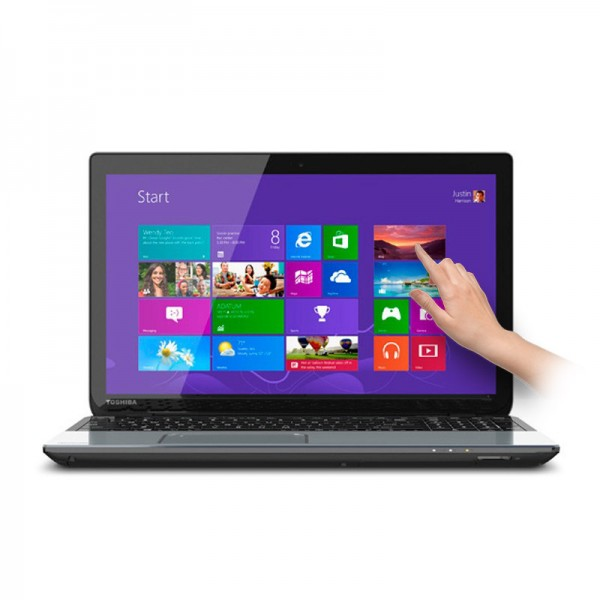 "Laptop Toshiba Satellite S55T-A5132, Intel Core i7 4700MQ 2.40GHz,RAM 12GB, HDD 750GB,DVD, 15.6"" HD Touch, Win 8.1"