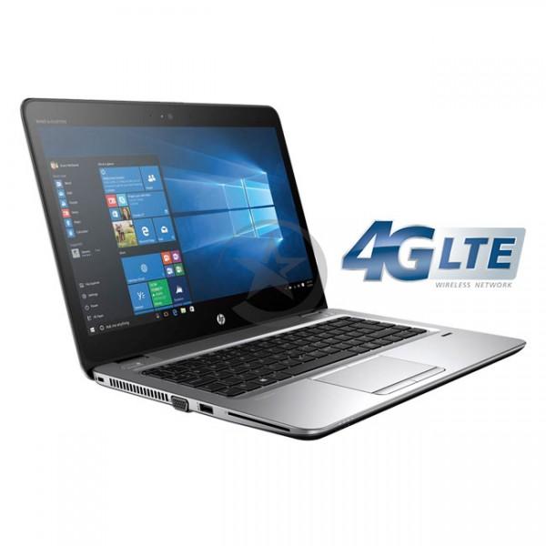"Laptop HP EliteBook 745 G3, AMD PRO A8-8700B 1.6GHz, RAM 16GB, SSD 512GB, Conectividad WiFI+Celular 4G LTE, LED 14"" Full HD, Windows 10 Pro"