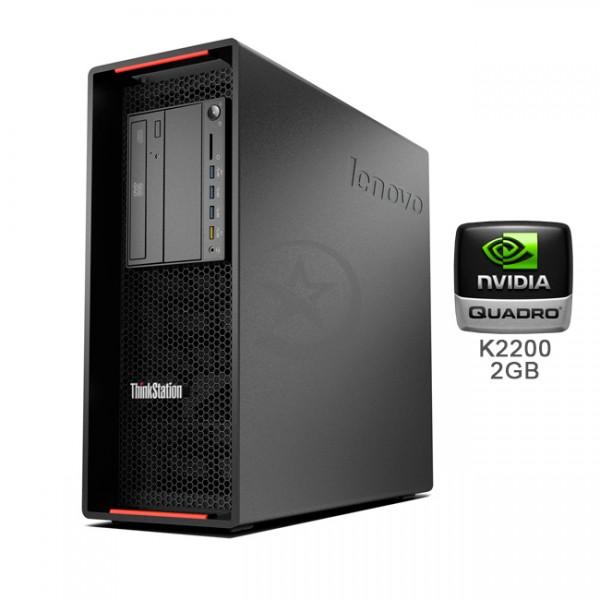 PC WorkStation Lenovo ThinkStation P700 Intel Xeon QuadCore E5-1607 v3 3.1GHz, RAM 16GB DDR4 , HDD 2TB + SSD 180GB , Video Quadro K2200 2GB ddr5, DVD, Windows 8.1 Pro