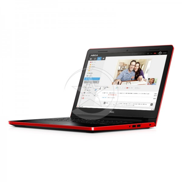 """Laptop Dell Inspiron 14 3458 Intel Core i3 5005U 2.0GHz, RAM 4GB, HDD 500GB, 14"""" HD TFT- Roja"""