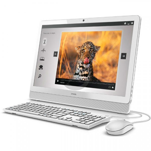 """PC Todo en Uno Dell Inspiron 24-3455 TOUCH, AMD A6-7310 2.0GHz, RAM 6GB, HDD 1TB, DVD, WiFI, BT, LED 23.8"""" Full HD Touch, Win 10"""