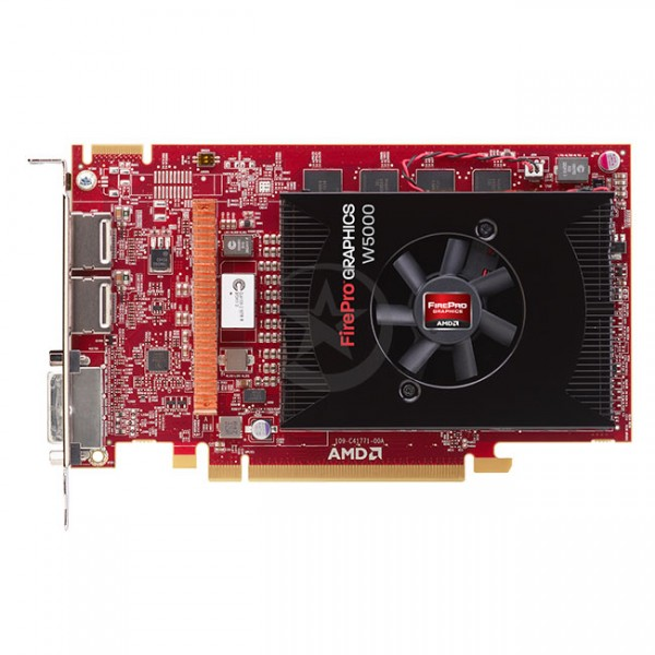 Tarjeta de Video AMD FirePro W5000, 2 GB GDDR5, 256-bit, PCI Express x16