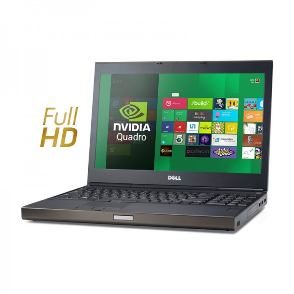 "Dell WorkStation Precision M4800 Intel Core i7 4810MQ 2.8GHz, RAM 16GB, SSD 512GB, Video Quadro K1100 2GB, DVD, 15.6"" Full HD, Windows 8.1 Pro"