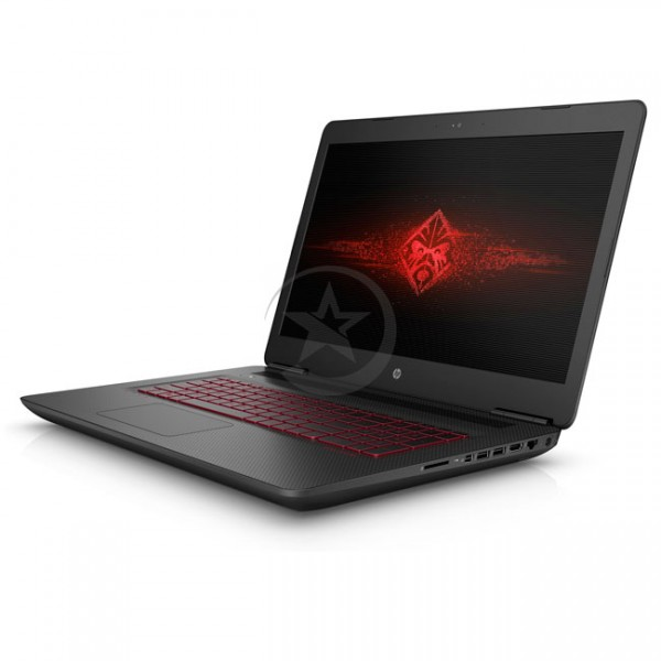 "Laptop HP Omen 17-w203la Intel Core i7-7700HQ 2.8GHz, RAM 16GB, HDD 1TB+SSD 256GB, Video 8GB GTX1070, DVD,  LED 17.3"" Full-HD , Windows 10"