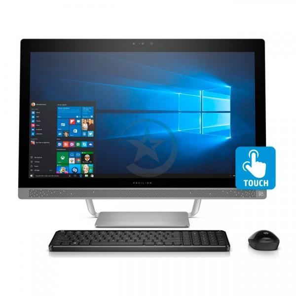 """PC Todo en Uno HP Pavilion Touch 27-a127c, Intel Core i7-6700T 2.9GHz, RAM 16GB, HDD 1TB, Video 2GB 930MX, DVD, LED 27"""" Full HD Táctil, Win 10"""