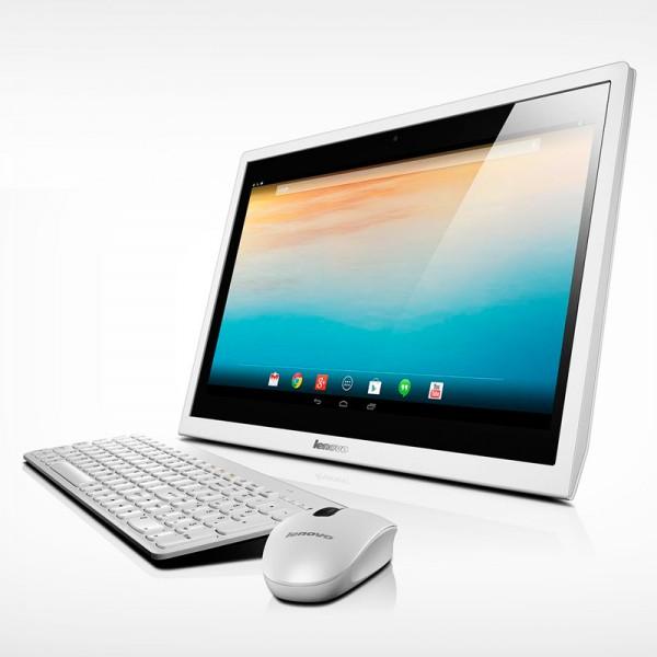 "PC Todo en Uno LENOVO N300 Intel Dual core J1800 2.4Ghz, RAM 2GB, HDD 320GB, LED 19.5""HD Touch"