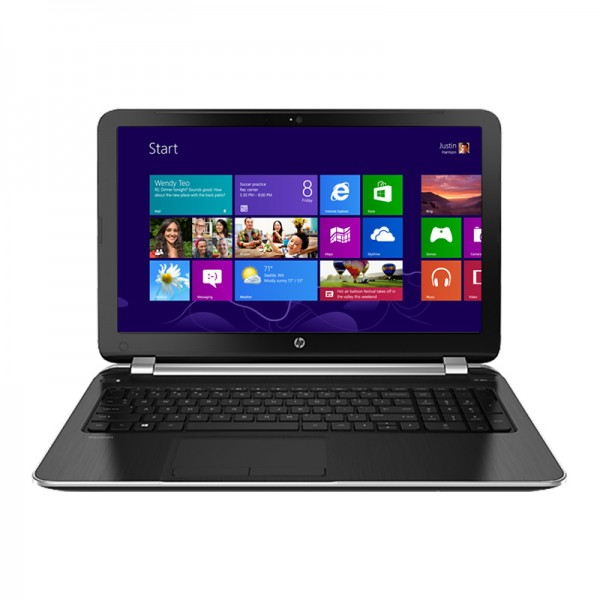 "Laptop HP Pavilion 15-n002la  AMD Elite Quad-Core A10-5745M 2,1 GHz, RAM 8GB, HDD 750GB, Video 2GB, DVD, 15.6""HD, Win 8"