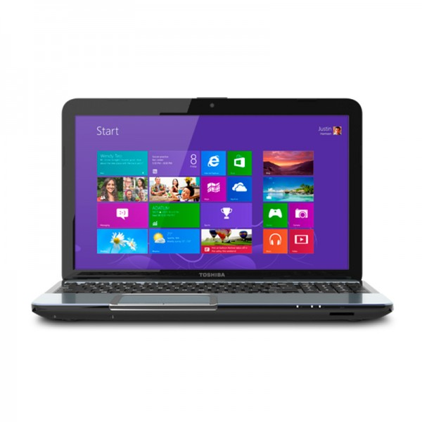"Laptop Toshiba Satellite S855-S5378 , Intel Core i7 3630QM 2.4GHz,RAM 8GB, HDD 750GB, DVD, 15.6""HD, Win 8"