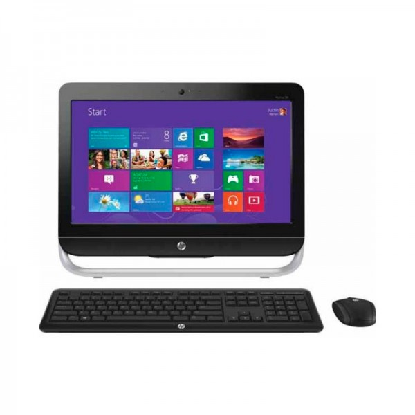 "PC Todo en Uno HP Pavilion 20-B152LA, Intel Core i3 3220 3.3 GHz, RAM 4GB, HDD 1TB, DVD, LED 20""HD, Win 8"