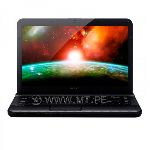 """Laptop Sony Vaio VPCEG20EL/B Intel Core i3 , RAM 4GB , HDD 1TB , DVD , 14""""HD"""