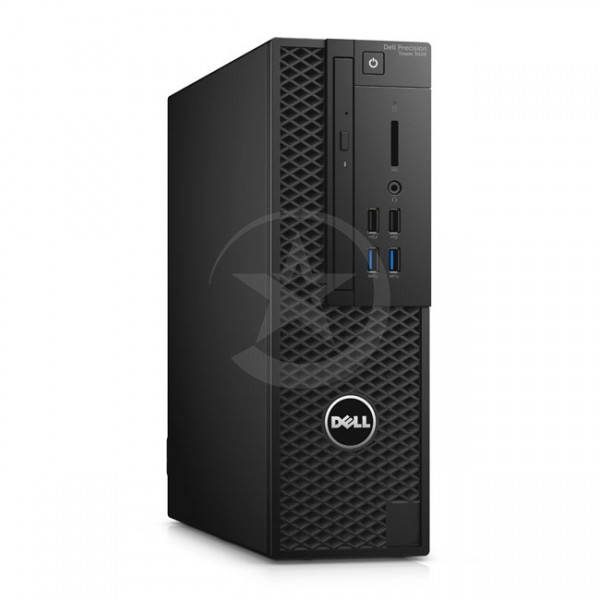 PC Dell WorkStation Precision 3420 SFF Intel Core i5-6600 3.3GHz, RAM 8GB, SSD 256GB ó HDD 1 TB , Video 1GB-NVIDIA® Quadro K600, DVD, Win 10 Pro