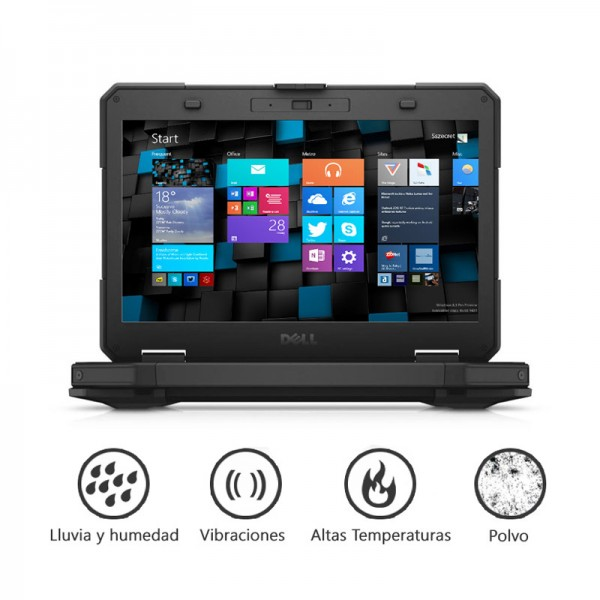 "Laptop Dell Latitude 14 5404 RUGGED ""Special Edition"" Intel Core i7-4650U 1.7GHz, RAM 16GB, SSD 256GB, DVD,  14"" HD, Win 8.1 Pro"