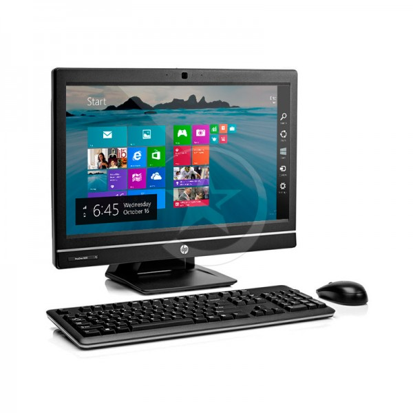 "PC Todo en Uno HP ProOne 600 G1, Intel Core i5-4690S 3.2 GHz, RAM 8GB, HDD 500GB, DVD, LED 21.5"" Full HD, Windows 8.1 Pro"
