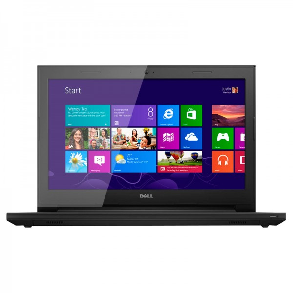 "Laptop Dell Inspiron 14 3442 Intel Core i3 4005U 1.70GHz, RAM 4GB, HDD 1TB, DVD , 14"" HD"