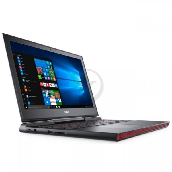 "Laptop Dell Inspiron 15-7567UP GAMING, Core i7-7700HQ 2.8GHz, RAM 16GB, HDD 1TB+SSD 128GB, Video 4GB DDR5 GTX-1050Ti, LED 15.6"" Full HD, Windows 10"