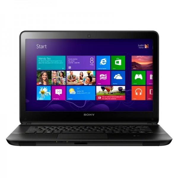 "Laptop Sony Vaio SVE14125CL Intel Core i5-3210M 2,50 GHz, RAM 4GB, HDD 500GB, Video 1 GB, DVD, 14""HD, Win 8"