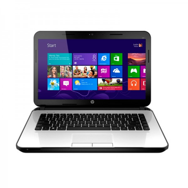 "Laptop HP 14-D007LA, AMD A4-5000M 1.5GHz, RAM 4GB, HDD 500GB, Video 1GB, DVD, LED 14"" HD, Win 8.1"