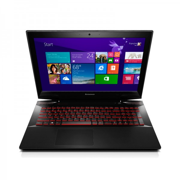 "Laptop Lenovo Y5070 Intel Core i7 4700HQ 2.4 GHz, RAM 16GB, HDD 1TB, Video 2GB GTX, DVD, 15.6"" Full HD , Win 8.1"