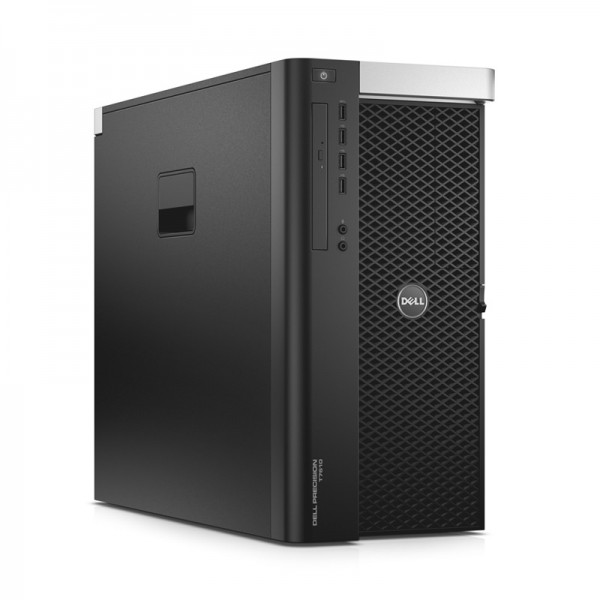 PC WorkStation Dell Precision T7610, Doble procesador Intel Xeon Eight-Core E5-2650 v.2 2.6GHz , RAM 192GB ECC, HDD SAS 1.2TB +SSD 1.02TB, NVIDIA Quadro K6000 12GB ddr5, Blu-ray, Win 8.1 Pro