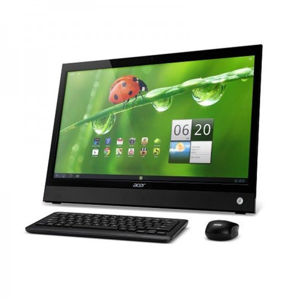 "PC Todo en Uno Acer DA220HQL, ARM Coretex-A9 Dual Core 1GHz, RAM 1GB, SSD 8GB, LED 21.5"" FullHD Touch Screen, Android 4.0"