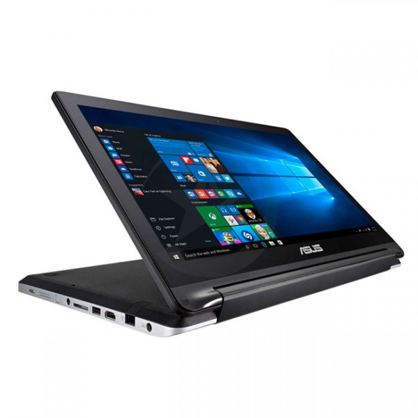 "Laptop convertible ASUS FLIP R554LA-RH71U, Intel Core i7-5500U 2.40 Ghz, RAM 8GB, HDD 1TB, DVD, LED 15.6"" HD Touch 360, Windows 10 ENG"