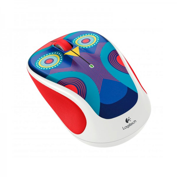 Logitech Wireless M317c Mouse - Ophelia Owl - Inalámbrico - Unifying - 1000dpi