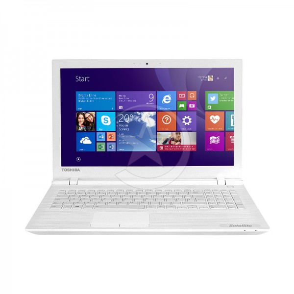 "Laptop Toshiba Satellite C55-C5222W Intel Core i5-5200U 2.2 GHz, RAM 4GB, HDD 500GB, DVD, LED 15.6"" HD, Windows 8.1"