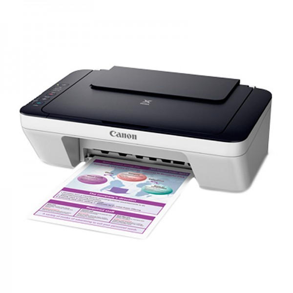 Impresora Multifuncional Canon Pixma E401, Imprime / Escanea / Copia, USB 2.0.