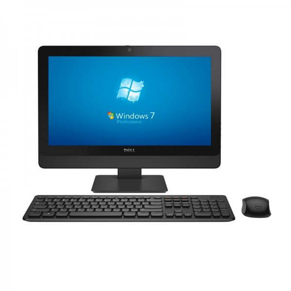 "PC Todo en Uno Dell OptiPlex 3030, Intel Core i3 4130 3.4GHz, RAM 4GB, HDD 500GB,DVD, LED 19.5"" HD, Windows 7 Pro"