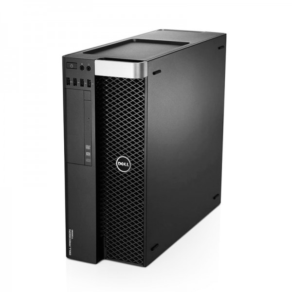 PC WorkStation Dell Precision T3610, Intel Xeon QuadCore E5-1607 v2 3.0GHz, RAM 32GB, HDD 2TB + SSD 480GB, Video Quadro® K2200 4GB ddr5, DVD, Windows 8.1 Pro