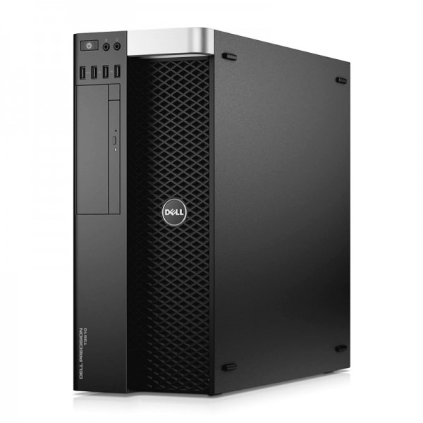 PC Dell WorkStation Precision T3610 Xeon® Quad-Core E5-1607 vPro 3.0GHz , RAM 64GB , HDD 4 TB + SSD 480GB , Video Quadro K2200 4GB, DVD, Windows 8.1 Pro