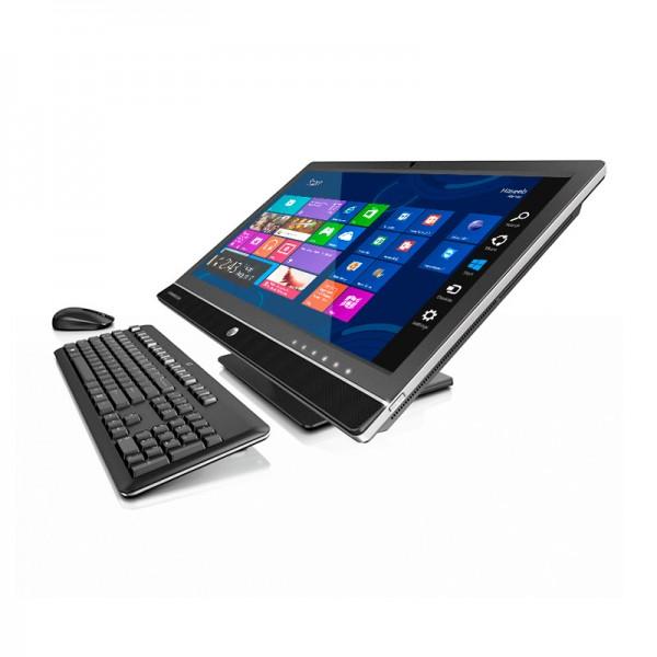"""PC Todo en Uno HP EliteOne 800 G1, Intel Core i7-4790S vPro, RAM 8GB, HDD 1TB, DVD, LED 23"""" Full HD touch, Win 8.1 Pro"""