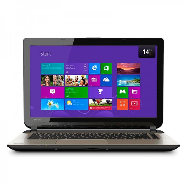 "Laptop Toshiba Satellite C45-A4116FL Intel Core i5-4200U 1.6 GHz,4GB, 500GB, DVD, BT, 14"",Win8.1"