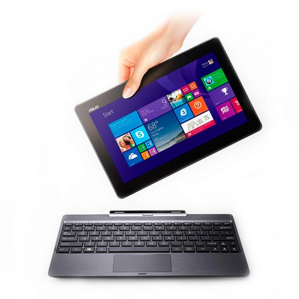 "Convertible Asus Transformer Book T100TA Intel Atom Z3740 1.33GHz, RAM 2GB, SSD 64GB, LED 10.1""HD Touch, Win 8.1 Pro"