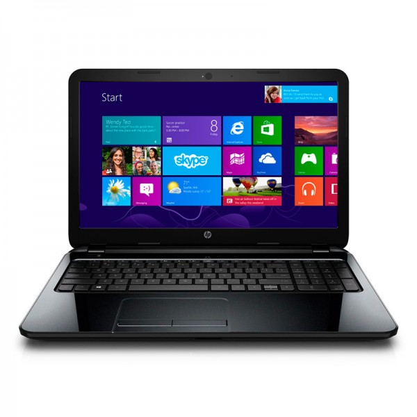 "Laptop HP 15-G011 AMD E2-6110 Quad Core 1.50GHz, RAM 4GB. HDD 500GB, DVD,15.6""HD, Win 8.1"